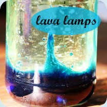 Lava lamp button