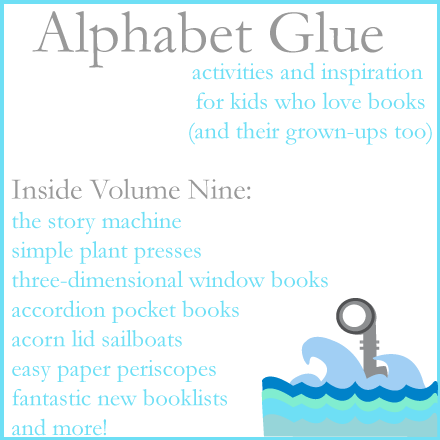 Alphabet-Glue-Volume-nine-Logo