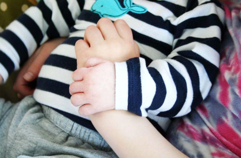 Mariam and zak hands