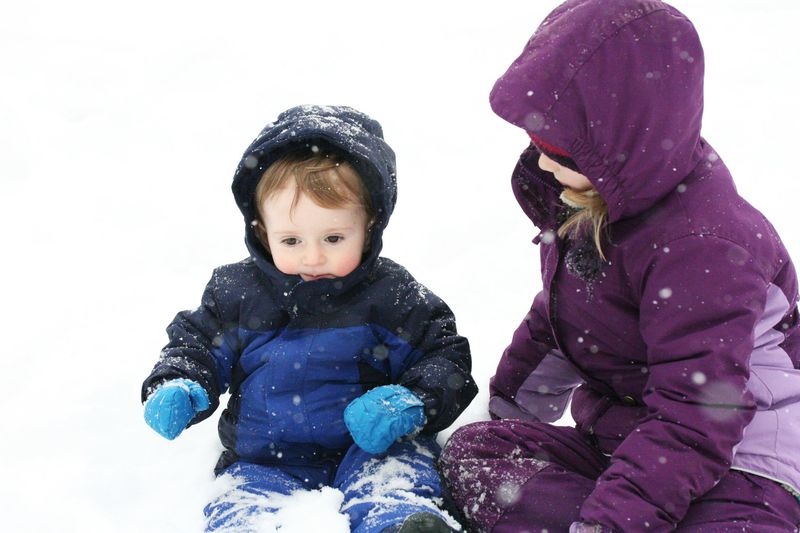Zak and mariam in the snow 2