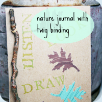 Nature journal tutorial button