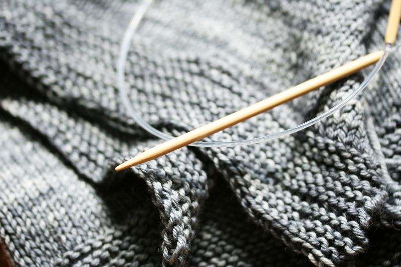 Tea leaves bind off