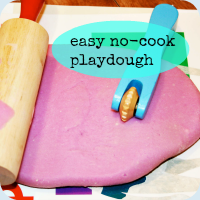 Playdough tutorial button