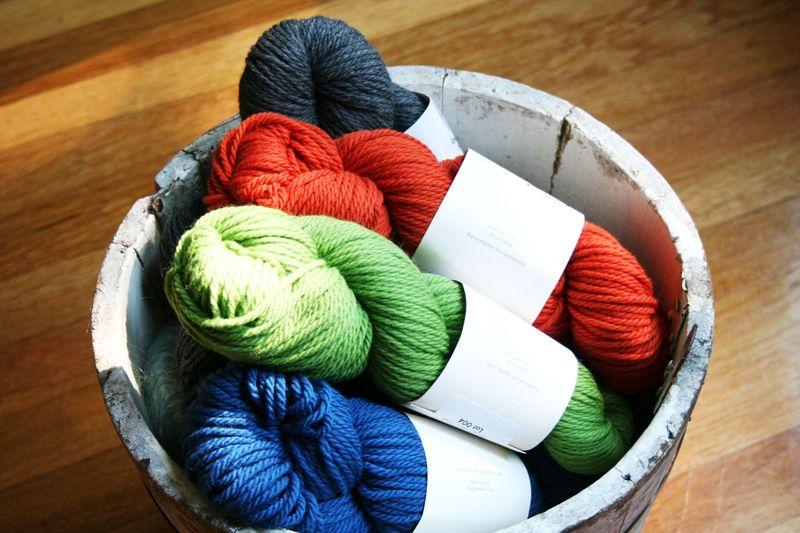 Toddler sweater yarn 2