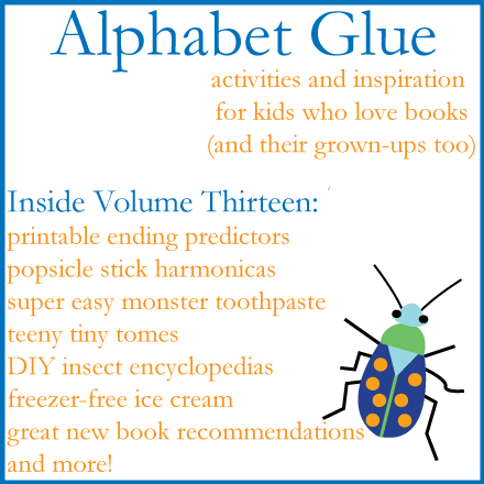 Alphabet-Glue-Volume-Thirteen-Logo