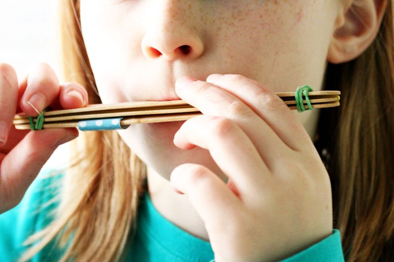 Popsicle stick harmonica 2