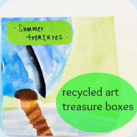 Treasure box button
