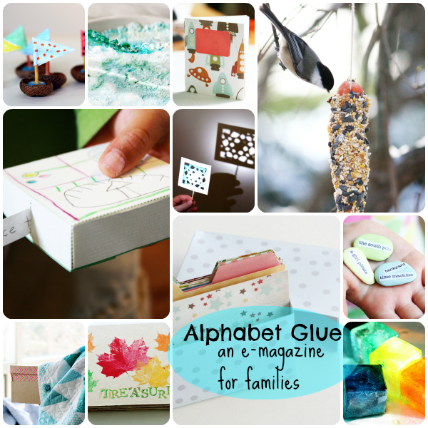 Alphabet Glue book bundle image