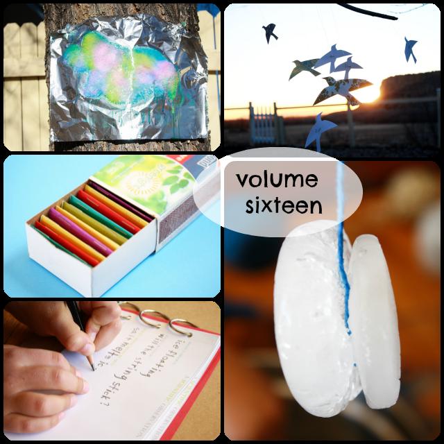 Volume sixteen photo collage